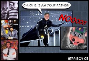 Chuck E I Am Your Father. by Atariboy2600