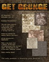Grungy Overlays Seamless Tiles by cosmosue