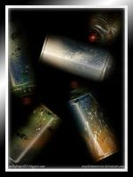 Cans on the dark 3 by maybeimnotexist