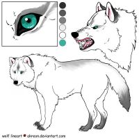 Vira's Wolf FORM by theversion