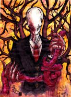 Fear the SlenderMan by Sombrero-de-Copa