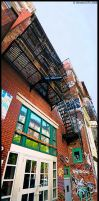 NYC Street Panorama 1 by WinstonGFX
