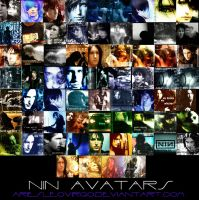 Nine Inch Nails Avatars by ariesleovirgo