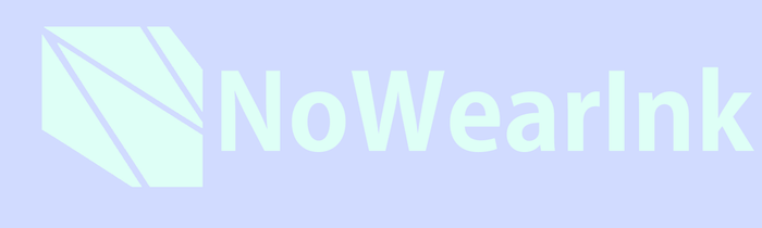 NoWearInk Logo by another-default