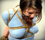 A Master ties a crotch rope on his slave by cuntofaman