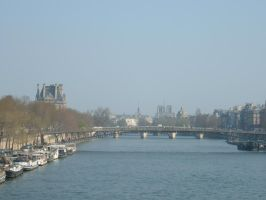 The River Sienne by AlexAKADucky