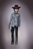 Carl Grimes by Anny96