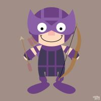 ADC: Hawkeye by striffle