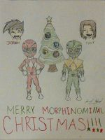 Merry MORPHINAMINAL Christmas by Jred20