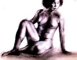 Nude pose 2 statuesque by philippeL