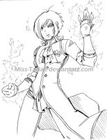 SS_Maxine_Front Sketch by Miss-TaDa