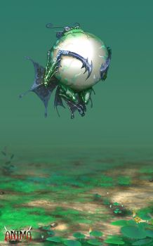 Anima: balloon frog by Wen-M