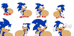 Sonic's Multiple Bellies by FootballLover