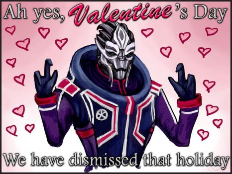Mass Effect Valentine - Ah yes... by efleck
