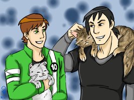 BEN10: Happy Bevin Day 2k11 by pan2dapan