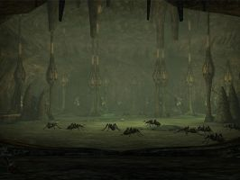 Lineage II - Ant Queen Nest by l2zerk