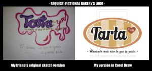 Request: Fictional bakery's logo by rickymanson