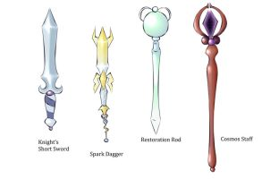Weapon Designs Fun by bunbunberry