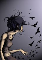 Blackbird Fly by icarus-victorious