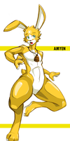 Character- Amyen by LobsterVendetta