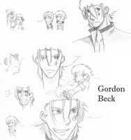 Gordon Sketch Dump by Noir-Lupus
