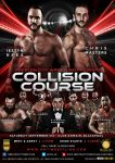 PCW Wrestling Collision Course official Flyer by THE-MFSTER-DESIGNS