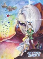 Zelda Wars IV: Skyward Sword by IAmNotAPorkChop