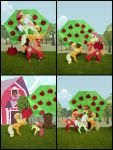 Great harvest at Sweet Apple Acres Collage 01 by Malte279
