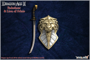 Dragon Age II: Fadeshear and Lion of Orlais models by Berserker79