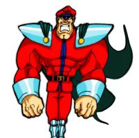 my first GIF. M.Bison / Vega Street Fighter by Shadaloo1989