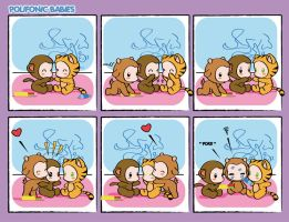 Comicstrip Polifonic Babies 8 by momo81