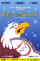 eagle vs shark by brainboxz