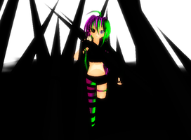 [MMD] The Insanity Spreads by khftw