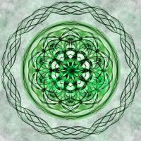 Fractaled Thoughts: Celtic Jewel by Romnil