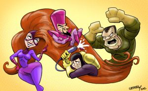Frightful Four by DadaHyena