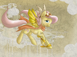 Steampunk Fluttershy by saucycustoms