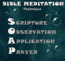 S.O.A.P. Bible Meditation by saykha
