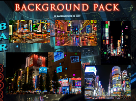 20 BACKGROUNDS CITY PACK by WolfArtz01