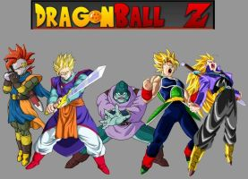 DBZ Warriors by DBAFcreator