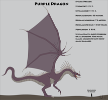 Fantasy Race: Purple Dragon by Kurvos