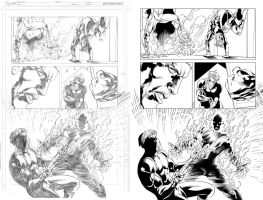 Grifter #13 page 14 inks... by Hachiman1