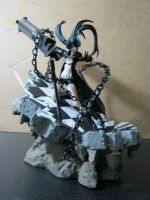 Black rock shooter diorama 1 by 6-fingers