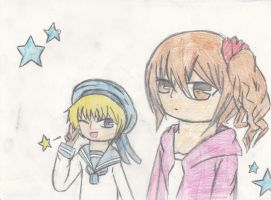 Wy and Sealand by PraiseBeToYevon