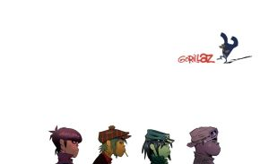 Gorillaz Wallpaper by GhettoMole