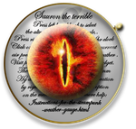 Steampunk Sauron LOTR Icon MkII by yereverluvinuncleber