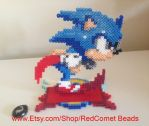 Sonic the Hedgehog Standing Sprite by HaleysRedComet