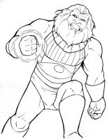Cincy Comicon: Blastaar by TravisTheGeek