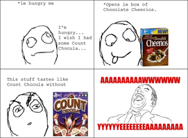 RAGE! - Cereal by PlayboyVampire