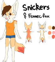 snickers // anthro ref by tinydoodles