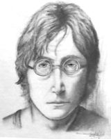 John Lennon by Nobody-Parks-Here
